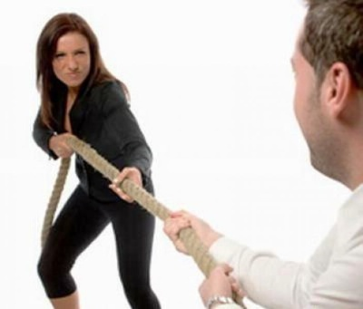 Как отучить кричать на себя мужа